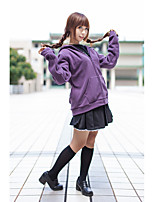 Inspired by Sailor Moon Sailor Moon  Cat Anime Cosplay Costumes Cosplay Suits Solid Hoodie For