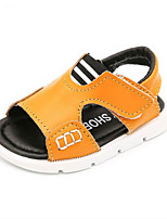 Boys' Sandals Summer First Walkers Cowhide Casual Flat Heel