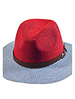 Men Bucket Hat Leather Summer Straw Hat Cap Wide Brim Hawaii Folding Soft Sun Hat Casual Foldable Brimmed Beach Hats