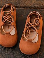 Boys' Flats Spring Fall Comfort PU Casual Flat Heel