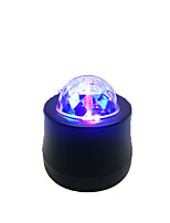Luzes LED de Cenário Magic LED Light Ball Party Disco Club DJ Mostrar Lumiere LED Crystal Light Projetor Laser 6W - - -Estroboscópico