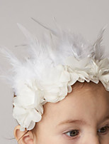 Kids Fabric Hair Clip Flowers Cute Party Casual Spring Summer Headband Headpiece Head Hair Accessories Flower Girls
