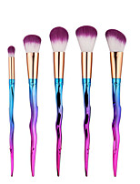 5pcs Contour Brush Makeup Brush Set Blush Brush Eyeshadow Brush Concealer Brush Powder Brush Foundation Brush Nylon Synthetic HairProfessional