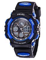 Masculino Relógio de Moda Relógio de Pulso Relogio digital Chinês Digital Calendário Silicone Banda Pendente Cores Múltiplas