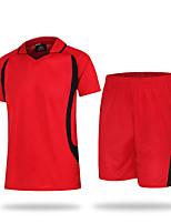 унисекс Футбол Спортивный костюм Дышащий Удобный Лето Спорт Терилен Футбол Белый Желтый Красный Зеленый Синий