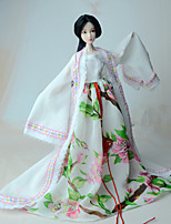 Dresses For Barbie Doll Coat Dress For Girl's Doll Toy
