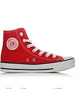 Da uomo Sneakers Di corda Primavera Bianco Nero Rosso Piatto