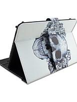 Pour Etuis coque Avec Support Avec Clavier Clapet Motif Coque Intégrale Coque Crânes Fleur Dur Cuir PU pour AppleIPad pro 10.5 iPad