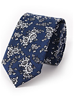Men's Fashion Floral Printing 6cm Narrow Version Of Casual Tie