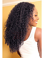 Hot Style Kinky Curly Hair Wig High Quality 100% Brazilian Human Hair Lace Front Wigs With Baby Hair For Woman