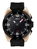 Men's Sport Watch Smart Watch Digital Heart Rate Monitor GPS Watch PU Band Black