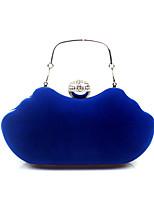 L.WEST Woman Fashion Luxury High-grade Flannelette Diamonds Evening Bag