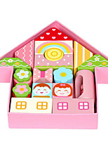 Building Blocks For Gift  Building Blocks Model & Building Toy House Wood 2 to 4 Years 5 to 7 Years Toys