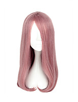 Cosplay Wigs Cosplay Cosplay Medium Straight Anime Cosplay Wigs 55 CM Heat Resistant Fiber Unisex