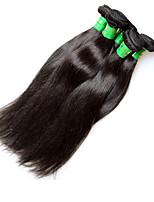 Atacado indiano straight remy feixes de cabelo humano 1kg 10pieces lot cru indecente virgem cabelo natural cor preta boa qualidade