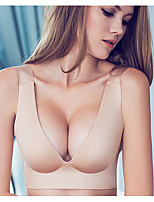 3/4 cup Bras,Double Strap Cotton