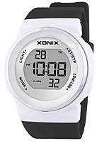 Women's Kid's Sport Watch Smart Watch Digital Water Resistant / Water Proof Noctilucent Rubber Band Black Red Orange