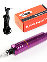 Solong Tattoo Pen Rotary Tattoo Machine Swiss Motor Needle Cartridges Purple EM106-4
