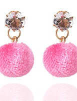 Women's Drop Earrings Basic Alloy Jewelry Ball Earrings Party Daily Casual Stage 1 pair
