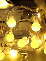 Led Ball Lamp Series Of Battery Light String Lights Flashing Lights Led Twinkle Light Ball St Christmas Lights To Hang