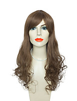 Capless Body Wave Long Brown Natural Wigs Wigs for Women Costume Wigs Cosplay Wigs