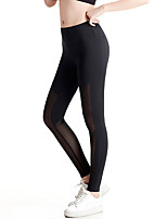 Women's Women's Running Tights Bottoms Fitness, Running & Yoga Quick Dry Wicking Push Up Breathability Spring/Fall All SeasonsYoga