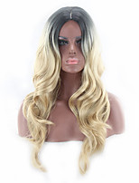 Hot Selling Black To Blonde Color Synthetic Cosplay Wigs For Women Party Wigs