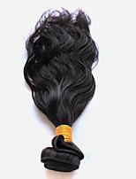 Tissages de cheveux humains Cheveux Péruviens Ondulation Naturelle 18 Mois 1 tissages de cheveux