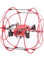 Drone M66 4 canali 6 Asse - Illuminazione LED Giravolta In Volo A 360 Gradi LibrarsiQuadricottero Rc Telecomando A Distanza 1 stazione di