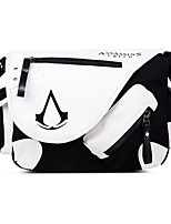 Men Assassins Creed Shoulder Bag Canvas Polyester All Seasons Event/Party Casual Date Rectangular Zipper