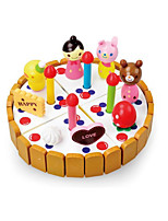 Pretend Play Building Blocks For Gift  Building Blocks Model & Building Toy Circular Wood 2 to 4 Years 5 to 7 Years Toys