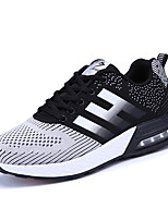 Men's Sneakers Mary Jane Comfort Tulle Spring Summer Athletic Casual Outdoor Mary Jane Comfort Lace-up Flat Heel Black Gray Navy Blue Flat