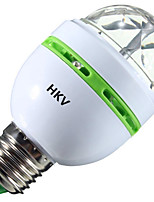 3W Ampoules Globe LED 1 LED Haute Puissance 200-300 lm RVB V 1 pièce