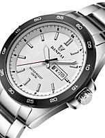 Homens Relógio Esportivo Relógio de Moda Bracele Relógio Japanês Quartzo Calendário Impermeável Noctilucente Lega Banda LuxuosoPreta
