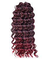 14inch crochet Deep Wave Twist No Shedding Hair kanekalon Crochet Braids deep wave Hair Extensions deep Twist Braids