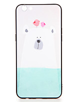 For OPPO R9s  R9s Plus Case Cover Pattern Back Cover Case Chicken Polar Bear  Cartoon Soft TPU R9 R9 Plus