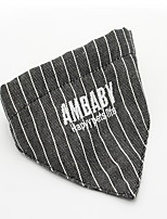 Cat Dog Tie/Bow Tie Dog Clothes Casual/Daily Stripe Black Ruby
