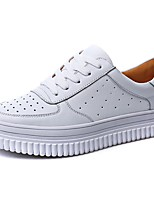 Women's Sneakers Creepers Nappa Leather Spring Summer Outdoor Casual Creepers White 1in-1 3/4in