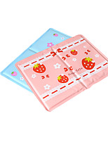 Cat Dog Bed Pet Mats & Pads Fruit Wateproof Double-Sided Foldable Durable Blue Blushing Pink