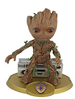 Figures Animé Action Guardians of the galaxy groot Inspiré par Cosplay Cosplay PVC 15 CM Jouets modèle Jouets DIY