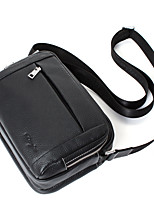 Genuine Leather Crossbody Bag Male High Quality Cowhide Messenger Bag Business Trendy Men Daily bag Zipper D8053