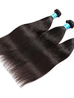 Натуральные волосы Малазийские волосы Человека ткет Волосы Яки Наращивание волос 3 предмета Черный