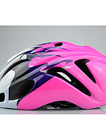 Unisex Bike Helmet N/A Vents Cycling Cycling / Mountain Cycling / Road Cycling / Recreational Cycling One Size EPS+EPU Pink