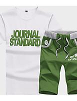Men's T-shirt Running/Jogging Casual Summer