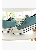 Women's Sneakers Summer Slingback Canvas Casual Green Black White