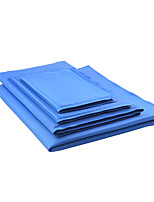 Cat Dog Bed Pet Mats & Pads Solid Wateproof Foldable Blue