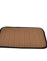 Cat Dog Bed Pet Mats & Pads Plaid/Check Portable Double-Sided Breathable Foldable Soft