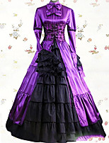 One-Piece/Dress Gothic Lolita Lolita Cosplay Lolita Dress Vintage Poet Long Sleeve Floor-length Dress For Other