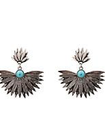 Fashion Women Metal Drop Earrings