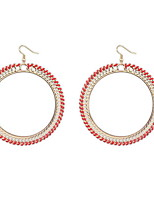 Euramerican  Exaggerated Personality Contracted Woven Big Earrings Women's Casual Drop Earrings Statement Jewelry